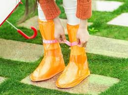 $enCountryForm.capitalKeyWord Canada - Summer Outdoor Travel Colorful Antiskid Waterproof Thickening Essentials Rain Boots Set High Bangchang Bandage Rain Shoes Cover