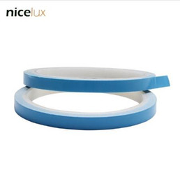 ConduCtive adhesives online shopping - NEW m m Roll mm mm mm mm Width Transfer Tape Double Side Thermal Conductive Adhesive Tape for Chip PCB LED Strip Heatsink