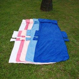 Toptan Boşlukları Katlanabilir Şezlong Ped Sandalye Kapak Düz Renk Plaj Şezlong Havlu DOM278 Kapakları