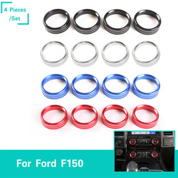 $enCountryForm.capitalKeyWord Canada - Air Conditioner & Audio Sound Switch Decorative Ring for Ford F150 2016+ High Quality Car Interior Accessories