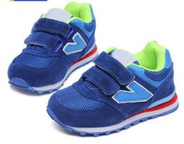 f3e0512c24fe Calzado deportivo infantil 2019 primavera nueva moda zapatillas de deporte  al por mayor hombres coreanos mujeres malla transpirable amortiguador  casual ...