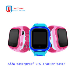 Smartwatch Gps Wifi Camera Australia - 2018 Kids Smart Watch SIM card IP67 Waterproof GPS WIFI Real-time Tracker With Camera GPS Smartwatch PK V6G Q100 for Child Baby