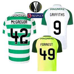 a14fb36fb 2018 Celtic FC Soccer Jersey McGregor 18 19 Celtic HOME Griffiths dembele  Sinclair Rogic Roberts Forrest shirts Jerseys S-XXL
