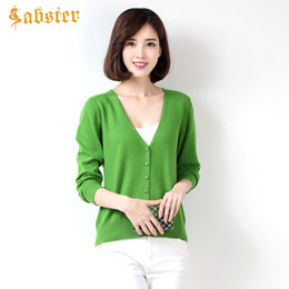 cropped green sweater 2018 - 2017 New Spring Autumn Women Cardigans Jacket  V-neck Long 7209119de