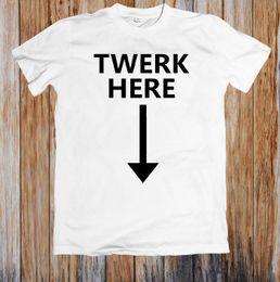 4fbcd0093 Hip Hop Dance T Shirt Man Canada - 2018 funny tee shirts men 100% TWERK