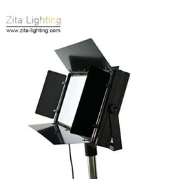 auto shoot NZ - 2Pcs Lot Zita Lighting Flat Panel LED Studio Lights Changing DMX512 Photography Shooting Conference Room Hall Three Primary Color Gradual