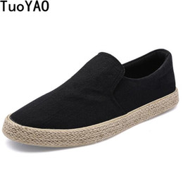 dd9562426c8 New 2018 Spring Fashion Men Canvas Shoes Espadrilles Men Casual Shoes Slip  on Breathable Loafers Men Flats Shoe Zapatos Hombre