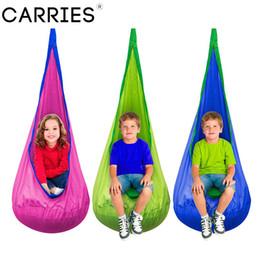 $enCountryForm.capitalKeyWord Australia - Baby Children Indoor Pod Swing Hammock Hanging Bed Garden Furniture Kids Outdoor Hanging Chair Camping Hammock