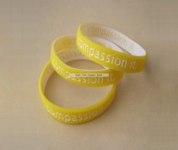 Business Tvs Wholesale Australia - Custom Color Filled Wristbands Logo Text Deboss Promotion Business Carved Bracelet For Party Meeting Exhibition