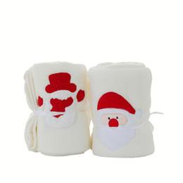 $enCountryForm.capitalKeyWord UK - Christmas Santa Claus Snowman Soft Coral Fleece Blanket Roll Blanket Portable Nap Child Home Office Supplies Gifts