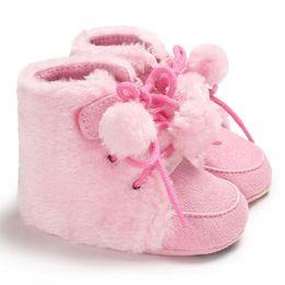 $enCountryForm.capitalKeyWord UK - Newborn Baby Boys Girls First Boot Fashion Casual Soft Sole Crib Shoes Anti-slip Sneakers Warm Boots