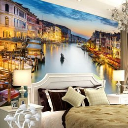 3d custom photo wallpapers NZ - Custom Photo Wallpaper 3D Wall Murals Wallpaper For Living Room Bedroom Background Walls 3D Home Decor Wallpaper In Venice City