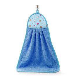 Plush Towels UK - Super Deal Hand Towel Soft Plush Hanging Wipe Bathing Towel