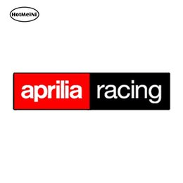 car sticker racing sport 2019 - HotMeiNi Waterproof Car Styling VINYL STICKERS APRILIA RACING AUTO MOTO GP MOTORCYCLE SPORT CAR HELMET 15cm x 3cm discou