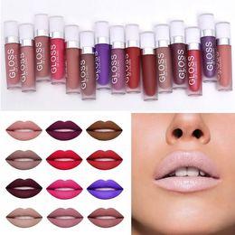 orange lipstick brands 2019 - 15Colors Matte Lipstick Professional Waterproof Brand Makeup Liquid Lipstick Lip Gloss Beauty Labial Batom Matte Maquiag