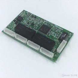 Toptan satış OEM PBC 4 Portlu Gigabit Ethernet Anahtarı Portu 4 pinli yol başlığı ile 10/100/1000 m Hub 4 yollu güç pin Pcb kurulu OEM vida deliği PCBA