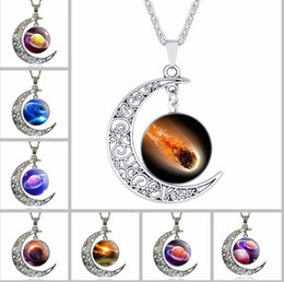 Necklaces Pendants Australia - 2018 new sweater chain long fashion personality wild Korean necklace moon gemstone ornaments accessories jewelry wholesale