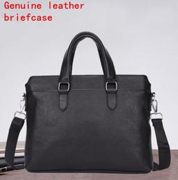 $enCountryForm.capitalKeyWord Canada - Factory independent brand men bag fashionable soft leather men handbag cowhide business briefcase briefcase Leather Computer Briefcase