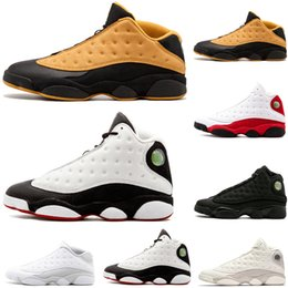 Wholesale Hot sale s He Got Game mens basketball shoes DMP Low Chutney Phantom black cat Chicago bred Hyper Royal sports sneakers size US