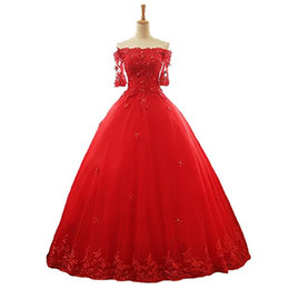 2019 New Luxury High Quality Lace Sweet 16 Ball Gown Quinceanera Dresses  Beaded Formal Party Gown Vestidos De 15 Anos 75ba9d24b875
