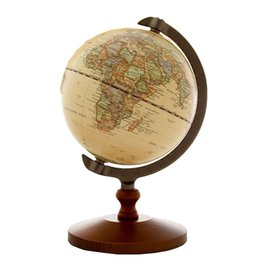 "$enCountryForm.capitalKeyWord UK - 5"" Quality Rotating Globe Display Rack Domestic Store Desk Counter Decoration Wood Globe Jewelry Source World Map Display Stand"