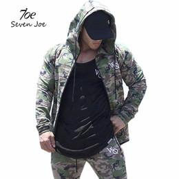 $enCountryForm.capitalKeyWord Canada - Seven Joe Fitness Men Hoodies Brand Clothing Men Hoody Zipper Casual Sweatshirt Muscle Men's Slim Fit Hooded Camouflage Jackets