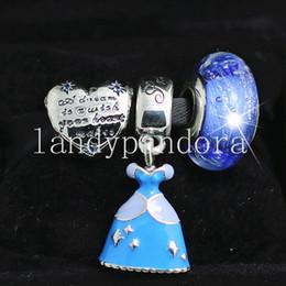 $enCountryForm.capitalKeyWord Australia - DIY Jewelry Sets 925 Sterling Silver Loose Charm & Murano Glass Lampwork Bead Fits European Pandora Bracelet & Necklaces-Christmas Gifts 25