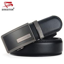 Designer Leather Trousers Australia - DINISITON Men Belts Fashion Men's Genuine Leather Belt Strap Designer Automatic Personality Belts Suit Trousers Belt