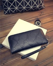 $enCountryForm.capitalKeyWord NZ - New fashion 2019 Women Wallets Stone female cards holders Candy colors PU wallet coin purses girl Long Wallet lady wallets