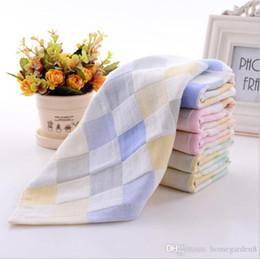 $enCountryForm.capitalKeyWord Australia - Child handkerchief Cotton towel gauze square baby printed saliva towel double gauze thin small handkerchief child