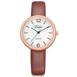 $enCountryForm.capitalKeyWord Canada - DUOYA 2018 NEW Fashion Women Men Couple Watch Rounded Analog Pointer Quartz Wrist Watch Clock For Lovers