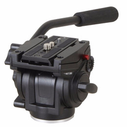 """Freeshipping Aluminum Alloy Camera Fluid Damping Head For SLR Camera Tripod Stand With UNC 1 4"""" 3 8"""" Camera Thread on Sale"""