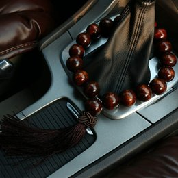 mirror beads 2019 - Car Ornament Automotive Stall Beads Automobiles Interior Rearview Mirror Decoration Pendant Beads Auto Gear Trim Gift ch