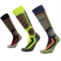 Hiver chaud hommes femmes thermiques longues chaussettes de ski plus épais sports snowboard escalade camping randonnée chaussettes 2501137