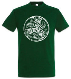 Chinese  Celtic Dogs T-Shirt Celts Knot Culture Religion Sign Symbol Insignia Tribal Funny free shipping Unisex Casual manufacturers