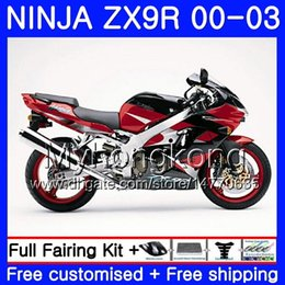 $enCountryForm.capitalKeyWord UK - Body For KAWASAKI NINJA ZX 900 9 R ZX 9R Dark red blk new 2000 2001 2002 2003 216HM.28 ZX900 ZX-9R 900CC ZX9 R ZX9R 00 01 02 03 Fairings Kit