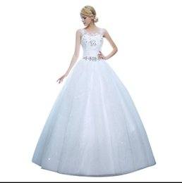 Chinese  New The Bride Dress Luxury See Through Wedding Dress Large Size Custom Made Wedding Dress manufacturers