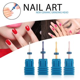 Wholesale 1PC Ceramic Nail File Drill Bit Tools For Nail Art Machine Grinding Stone Head