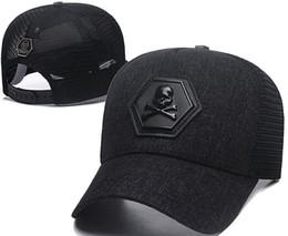 Chinese  Newest Designer PP Skull Caps Casquettes De Baseball Cap Gorras Fashion Brand Baseball Hats Races Headwear Giants Bone Sun Hat Luxury Sunhat manufacturers