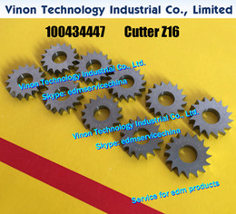 Wholesale 100434447 edm Cutter Z16 Dx16Teeth Lower Cutter Knife for ROBOFIL F F