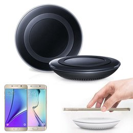 galaxy s6 edge charger NZ - Wireless Charger Charging Pad Original for SAMSUNG GALAXY S6 S6 Edge S6 Edge+ Plus S7 S7Edge Note5 Lumia 920 93 HTC 8X Black