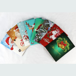 painted christmas canvas UK - kexinzu New Christmas Greetings Card Gift 5D Diy Partial Round Stone Bead Diamond Painting Mosaic kit 3D Diamant Embroidery Cross Stitch