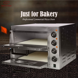 timer electric 2019 - EP2ST Hot sale Electric Pizza Bakery Oven with timer for commercial use for making bread, cake, pizza