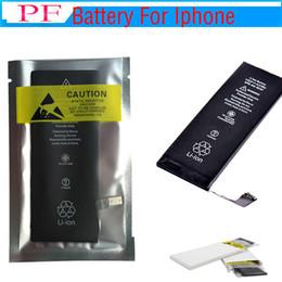 (100% Full Original New) Не копировать ~! 100% емкость !!! Zero Cycle Встроенная внутренняя литий-ионная аккумуляторная батарея для iPhone 5s 5c 6 7 7P 8G 8P