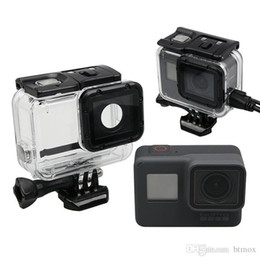 gopro hero dive housing NZ - Go pro Housing Mount Lateral protection shell Protective Frame Case for Gopro Hero 5 Action Sports Camera Accs Diving Mask