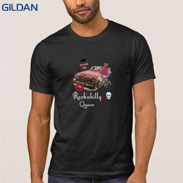 Classic t shirt for men top tee rockabilly queen vintage 50s t shirts  Clothes cotton Print homme S - XXXL Graphic tee shirt 5a9cc1c14488