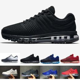 86f7ce05f352 Nike air max airmax 2017 di alta qualità maglia knit airless sportswear uomo  donna aria 2016 scarpe casual economici sport aria 2016 allenatore sneakers  ...