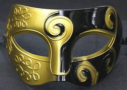 $enCountryForm.capitalKeyWord Australia - 2019 Halloween Mask New Men Man Retro Roman Greek Venetian Prince Mask King Warrior Mardi Gras Masquerade Party Half Face Mask