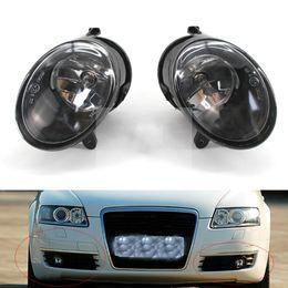 $enCountryForm.capitalKeyWord Australia - For Audi A6 C6 2005 2006 2007 2008 Auto Fog Light Lamp Car Front Bumper Grille Driving Lamps Fog Lights Set Kit 4F0 941 699