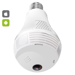 Chinese  Wifi Panoramic Fisheye 360 degree Camera Wireless IP LED Light Bulb Mini Camera 1.3MP 3D VR 960P Security Bulb WIFI CCTV manufacturers